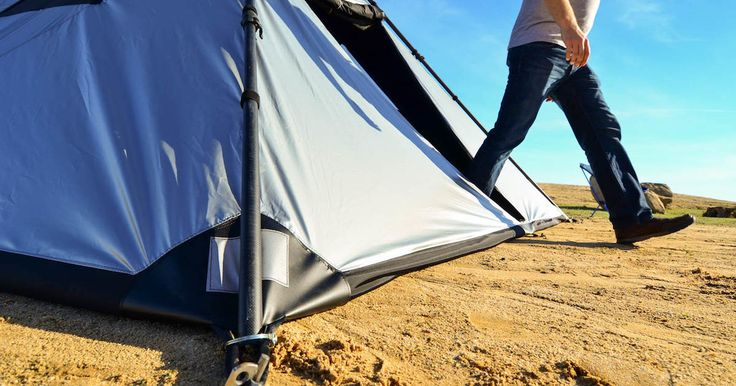 A start-up called Alien Buffalo has launched a new line of tents designed for use while car camping or attending festivals such as Burning Man.