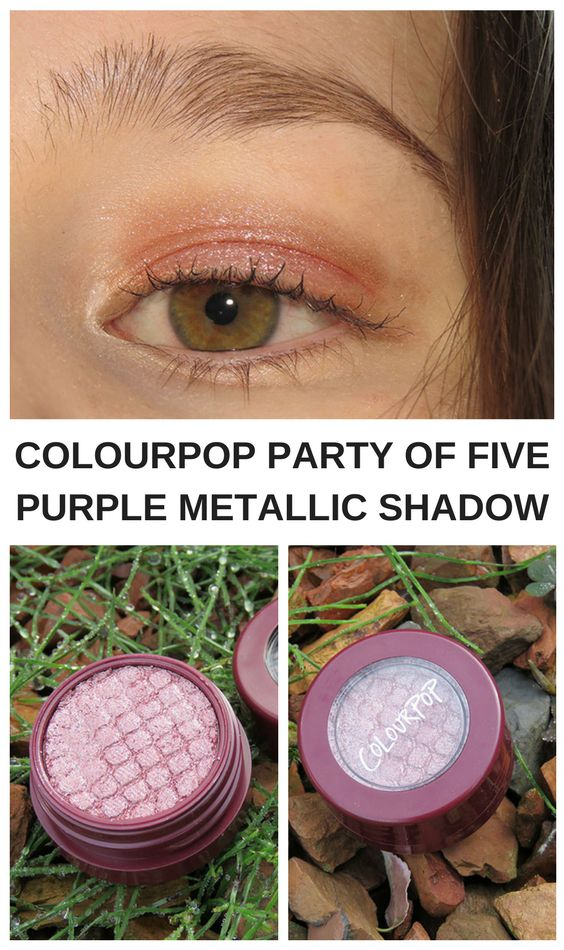 Colourpop is one of my favorite makeup brands. They have amazing eyeshadow, lippies, highlighters and more. Today I review Party of Five. An amazing super shock shadow. In this post I will show you some swatches from this amazing cosmetics brand.