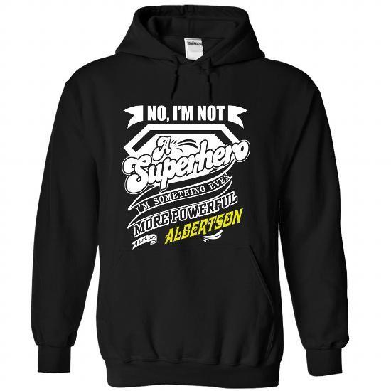 ALBERTSON - Superhero - #teen #customized hoodies. SATISFACTION GUARANTEED  => https://www.sunfrog.com/Names/ALBERTSON--Superhero-yvrjzniegg-Black-37225661-Hoodie.html?60505
