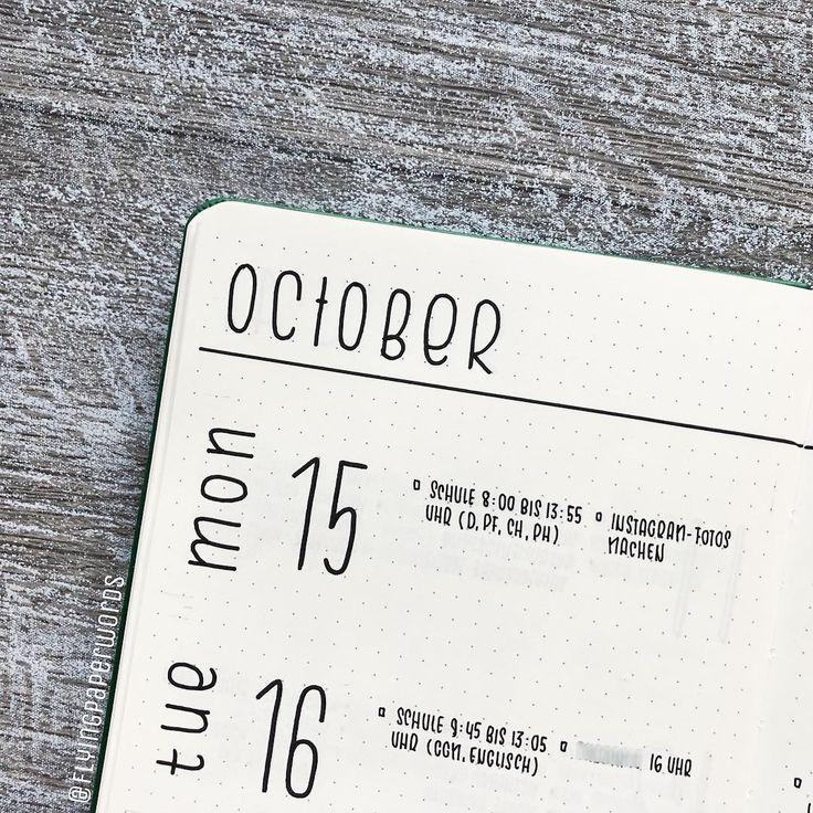 16/10/2018 Meine aktuelle Woche ist sehr spontan – am Sonntagabend bemerkte ich, dass ich meine neue Woche bis dahin nicht so spät vorbereitet hatte …