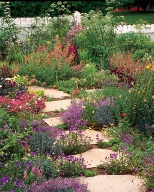 'A Front-Yard Garden in No Time' | Fine Gardening- great list of perennials: 'Fast Fillers' and 'Big Clumpers'!
