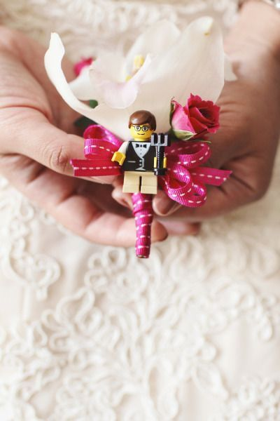 おもちゃみたい♡『LEGO』がテーマの結婚式が可愛い!にて紹介している画像