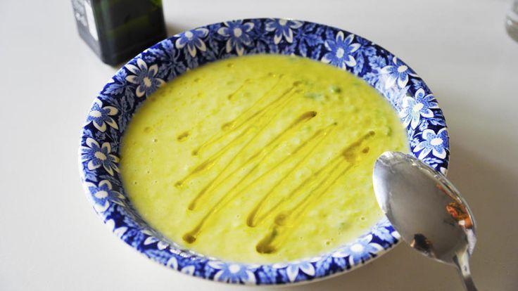 Tre ingredienser: Potet- og purreløksuppe