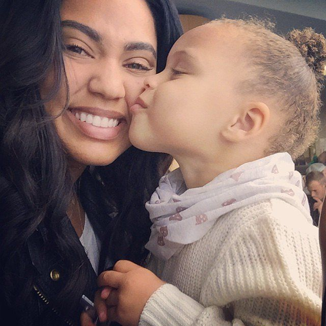 Like what you see⁉ Follow me on Pinterest ✨: @joyceejoseph ~  Ayesha and Riley Curry