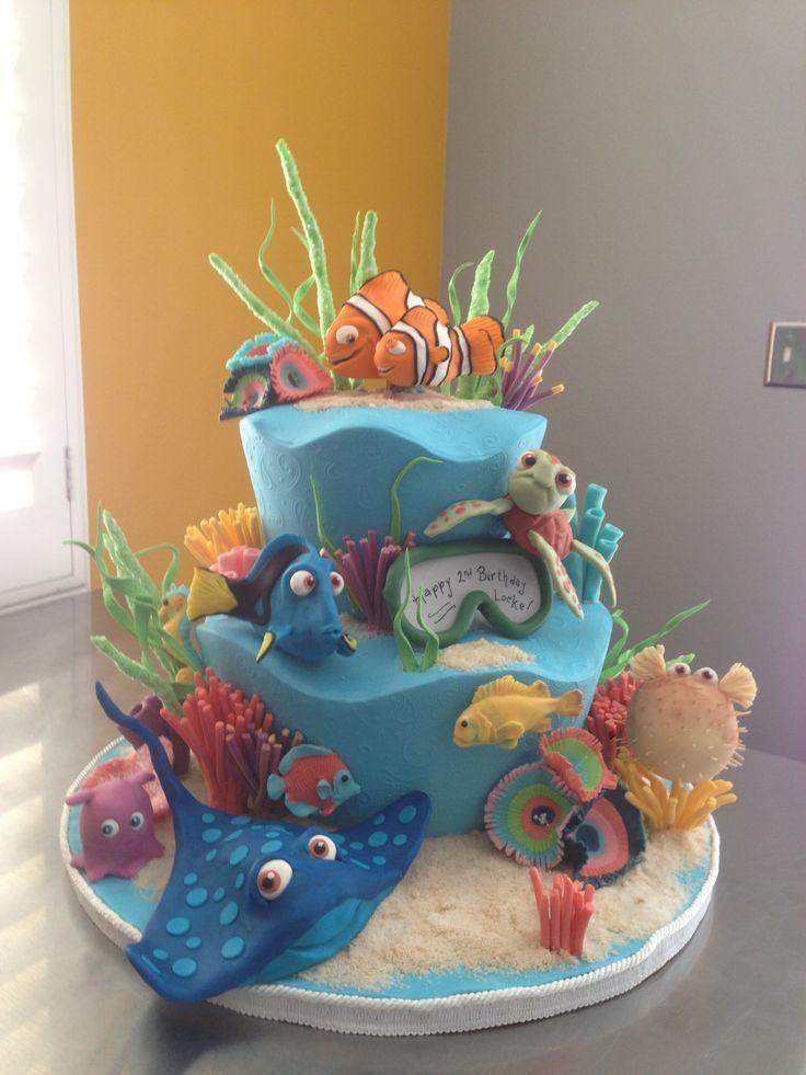 Locke's Finding Nemo cake!!
