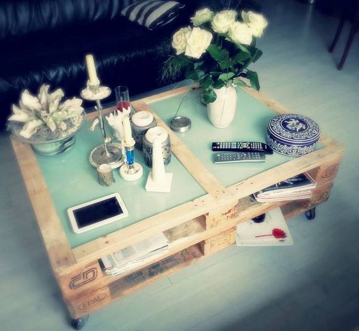 DIY pallet table made by @K Sing