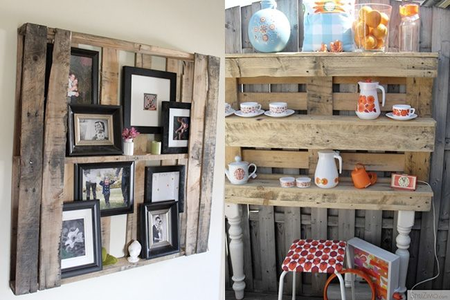 Wood Pallet Idea: Diy Ideas, Pallet Projects, Pallets Wall, Pallet Ideas, Pallets Ideas, Diy Projects, Wood Pallets Shelves, Pallets Projects, Crafts