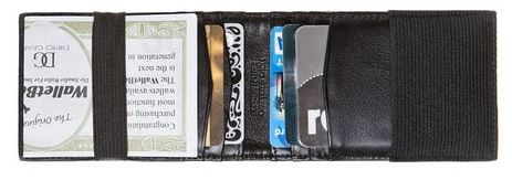Say hello to your next wallet... Men's original front pocket leather outer ID wallet. Ultra-Thin. Holds 10 Credit Cards. #Wallet #Front Pocket Wallet