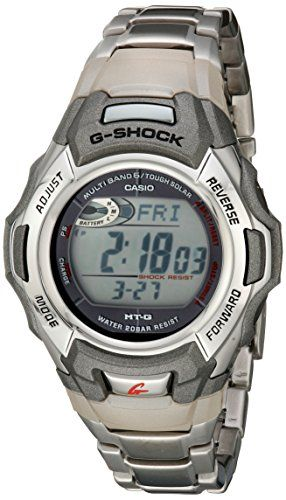 G-Shock MTGM900DA-8CR Men's Tough Solar Atomic Stainless Steel Sport Watch - http://www.darrenblogs.com/2016/12/g-shock-mtgm900da-8cr-mens-tough-solar-atomic-stainless-steel-sport-watch/