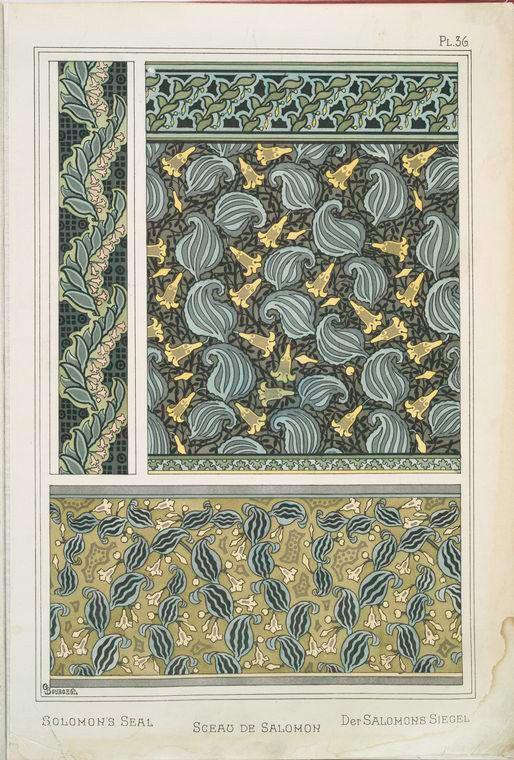 Растительные орнаменты. Часть 2. - Старый гербарий