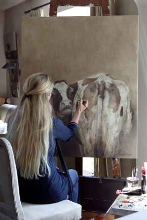 Landelijke kunst door Annabelle Lanfermeijer