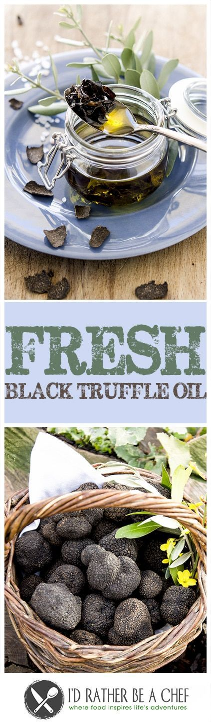 Ever wanted to learn how to make truffle oil? This recipe gives you the straight information to make it right in your kitchen with bonus questions about truffles! via @idratherbeachef
