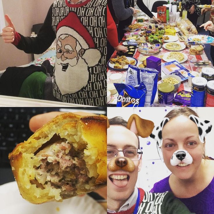 Day 358: Christmas jumpers and buffets with homemade pork pies = good work day #cowley365 #365project #365photoproject #365dayschallenge #365 #365days #365photochallenge Instagram: http://ift.tt/1Pkc8Cl