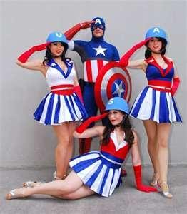 Captain America\u0027s USO Girls · Usa GirlsDisney CostumesAdult