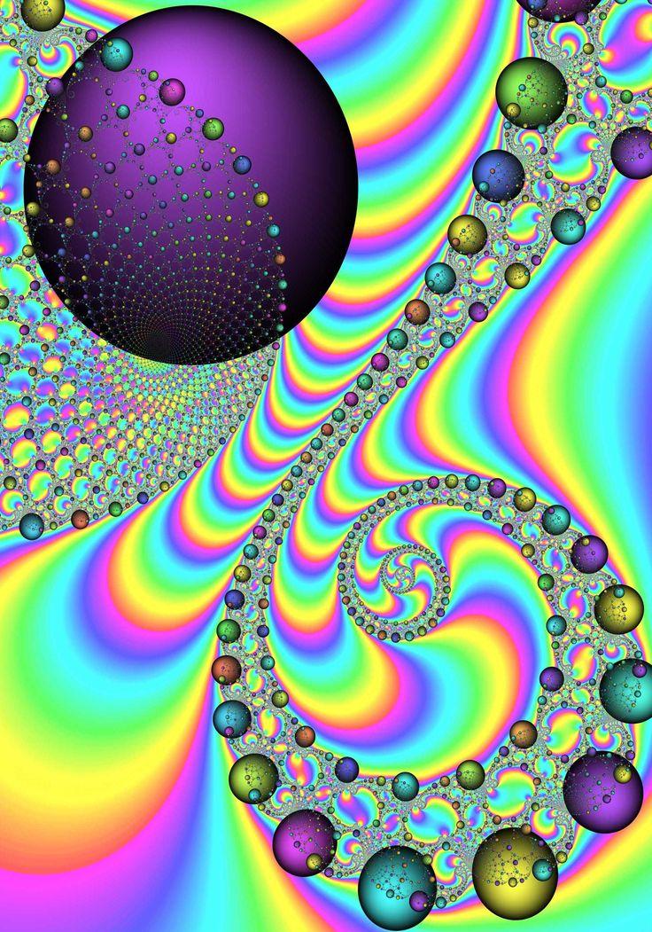 rainbow fractal cool - photo #14