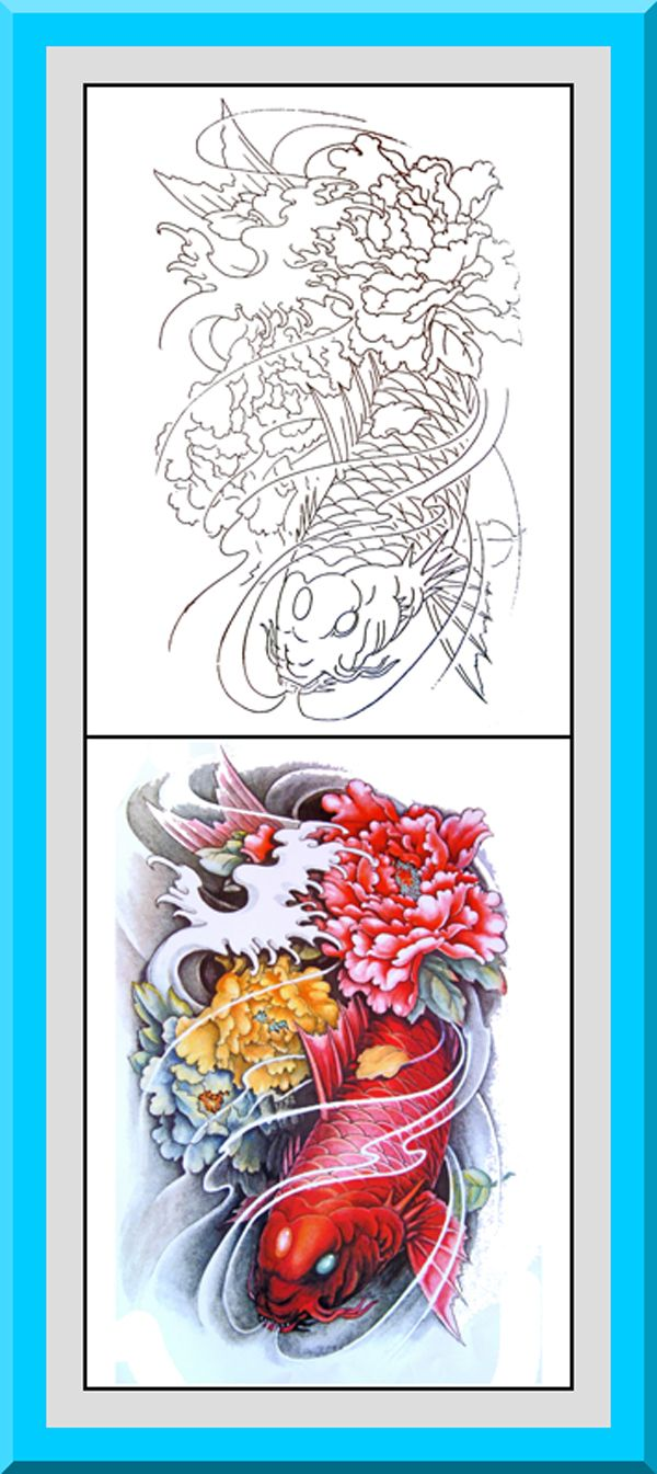 Colouring in for adults examples - Japanese Coloring Book 30 Printable Coloring Pages Outlines Color Examples Instant Download Japanese Style Coloring Pages