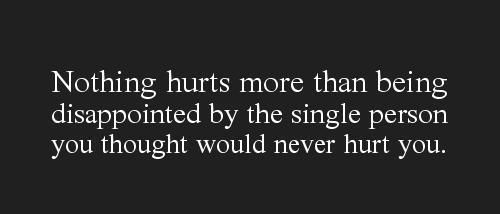True in my life. And then saying goodbye no matter how much you want to hold on...realizing you can't go back but only move forward because whoever you really are meant for is waiting out there.