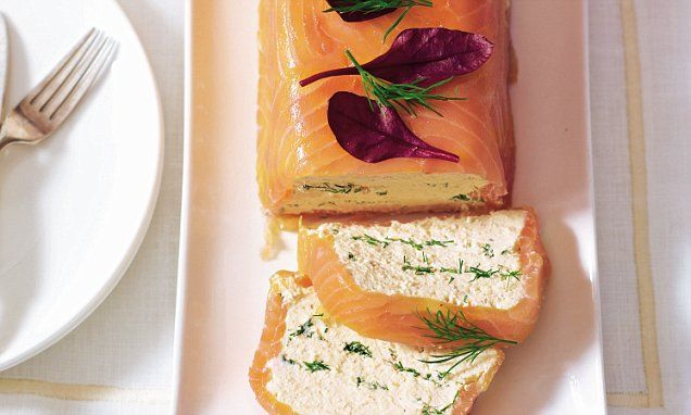 A very Mary Christmas: Chilled salmon terrine