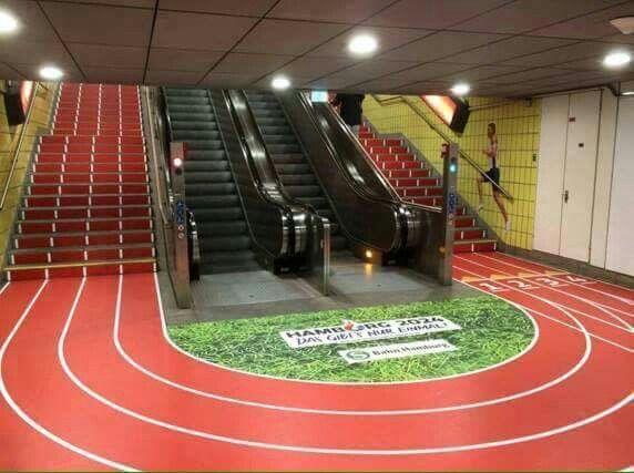 Ecco un'ottima pubblicità per le #olimpiadi e per stimolare le persone a muoversi di più!