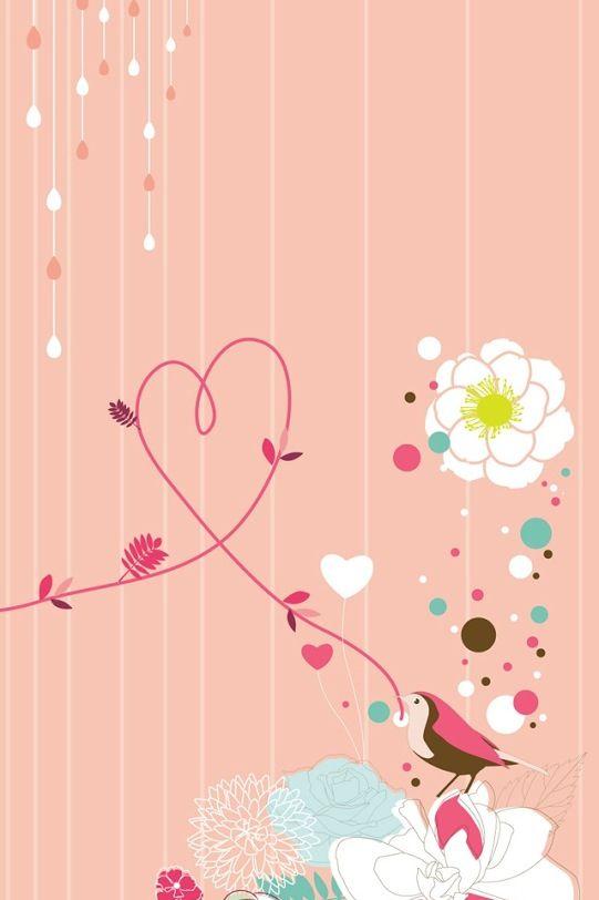 Love Girly Wallpaper : girly allpaper Wallpapers Pinterest Flower wallpaper, Flower and Love the