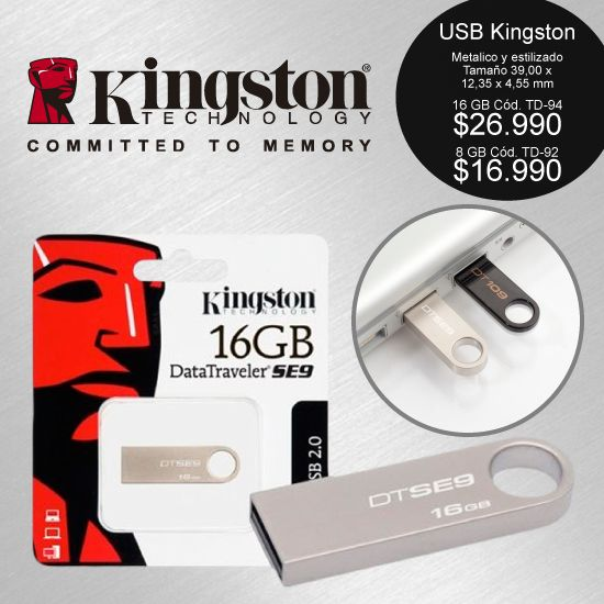 #Kingston, 16 Gb