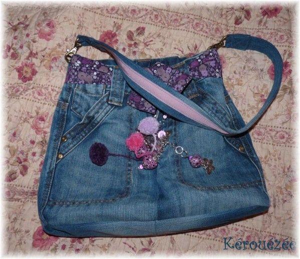 sac en jean