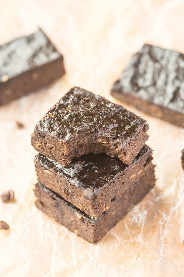 Healthy Three-Ingredient Brownies