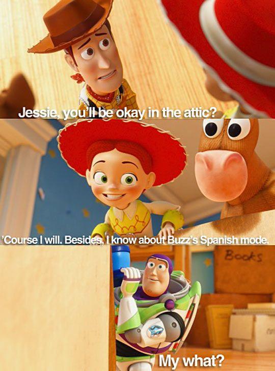 Jessie Has Her Tricksu2026 | Funny | Pinterest | Toy Jessie And Disney Pixar
