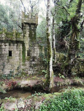 1000 Lugares en Galicia: El Bosque Encantado de Aldán, en Cangas de Morrazo. Provincia de Pontevedra.