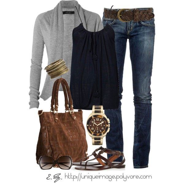 Casual Outfit... -- Clearly, our definition of casual is very different. I was thinking date/night out ready.