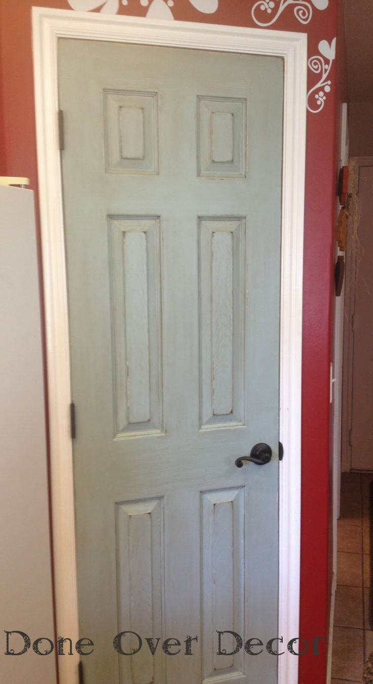 Done Over Decor Painted Pantry Doors A Painted Nest