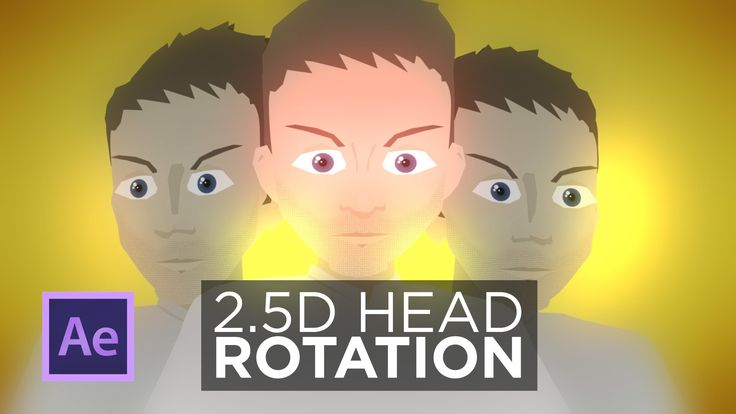 """""""3D"""" Head Rotation for Detailed Artwork in After …"""