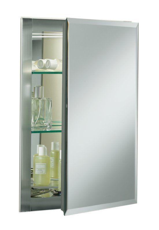 Buy The Kohler Silver Aluminum Direct. Shop For The Kohler Silver Aluminum  X Single Door Reversible Hinge Frameless Mirrored Medicine Cabinet And Save.
