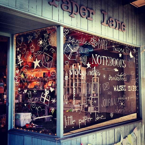 LITTLE PAPER LANE stationery boutique www.littlepaperlane.com.au