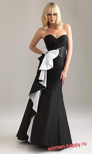 Модное платье для выпускного бала