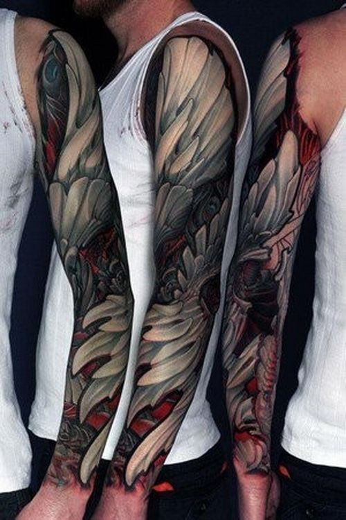 awesome tattoo | Extreme Full Sleeve Tattoos | Tattoo Ideas Mag | Tattoo Ideas for Men ...