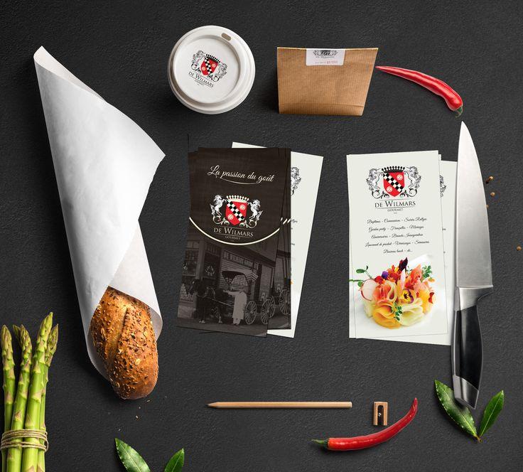Belgium restaurant flyer
