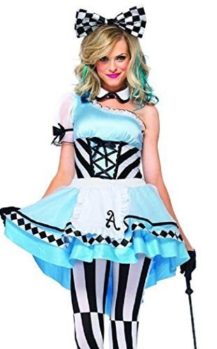 Womens Alice in Wonderland Style Cosplay CostumeGothic Lolita French Fancy Dress @ niftywarehouse.com #NiftyWarehouse #AliceInWonderland #Alice #Wonderland #Gifts
