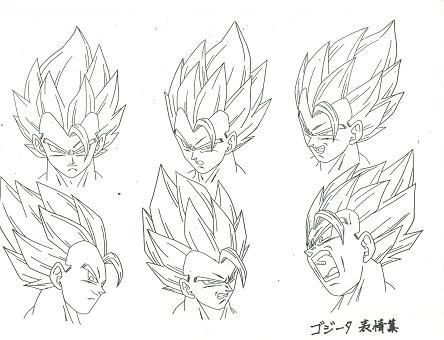 Dragon Ball Art Concepts Model Sheets.  provided by: www.kamisama.com.br: