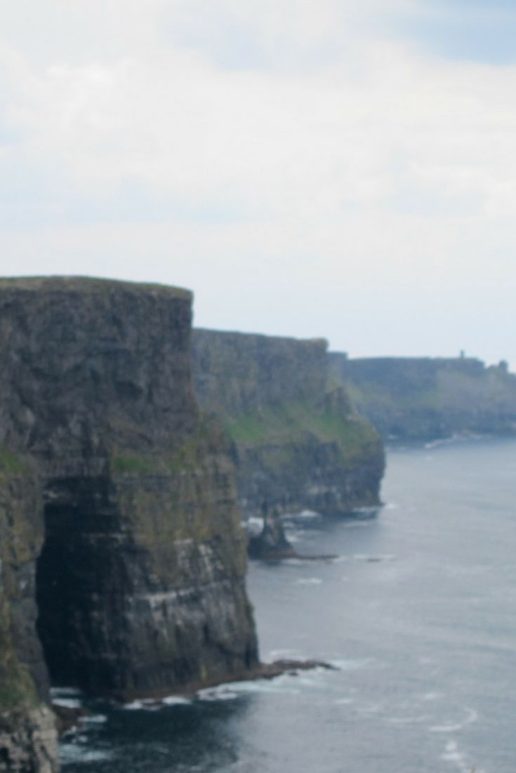 Cliffs of Moher are located on the rugged west coast of Ireland. Stop by during your travel along the Irish coast for breathtaking views and wildlife.