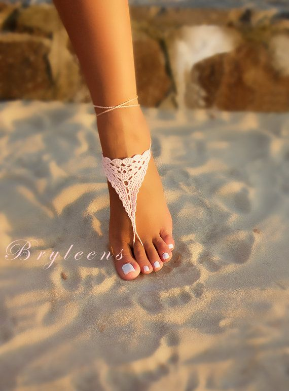 Hey, I found this really awesome Etsy listing at https://www.etsy.com/listing/489952921/pink-barefoot-sandals-crochet-barefoot