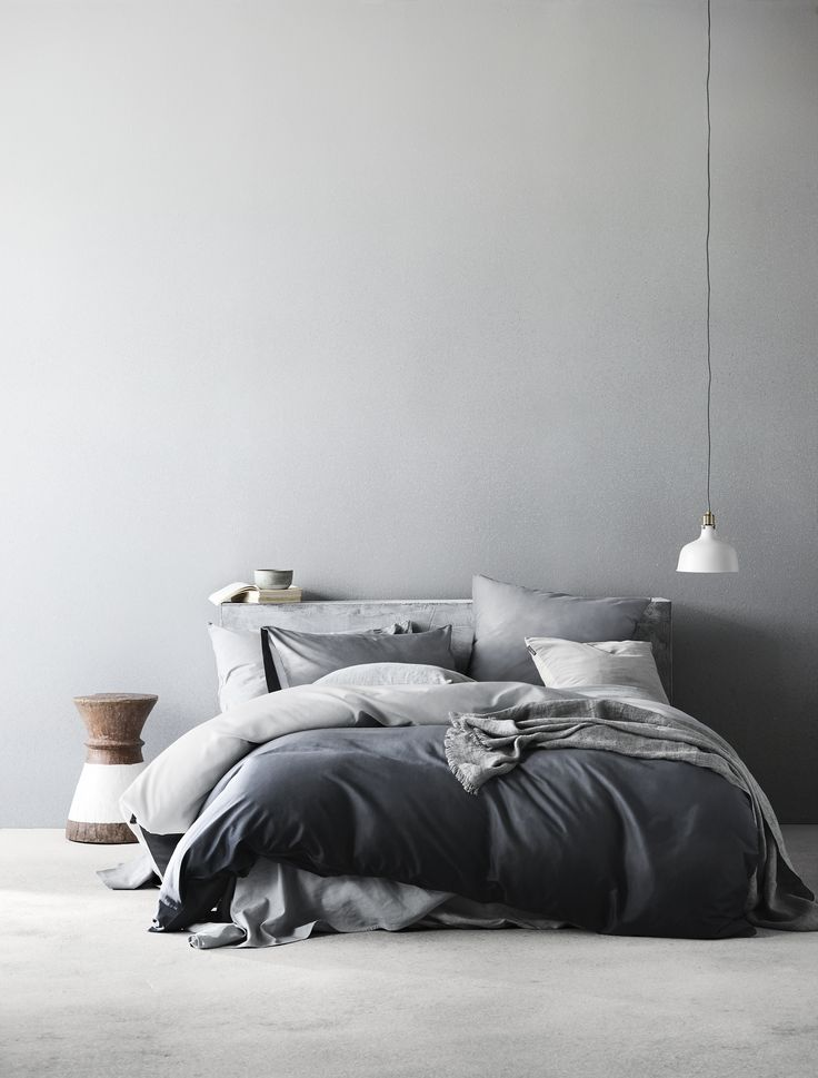 Nordic Mist is our homage to the land of the midnight sun and the wistful beauty of Fjällen region. Not quite night, and not quite day, it is an echo of mother nature at her most eccentric, poignant and reposed in her embrace of the twilight fog. Quilt cover set available at www.aurahome.com.au.