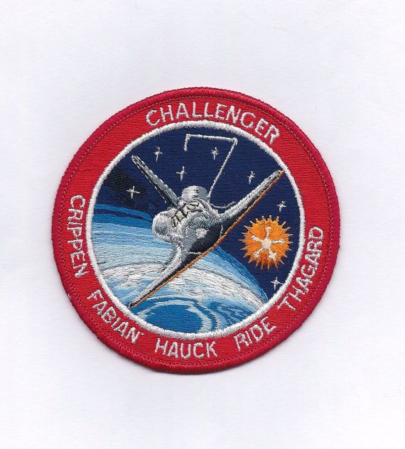 sally ride nasa name patch - photo #10