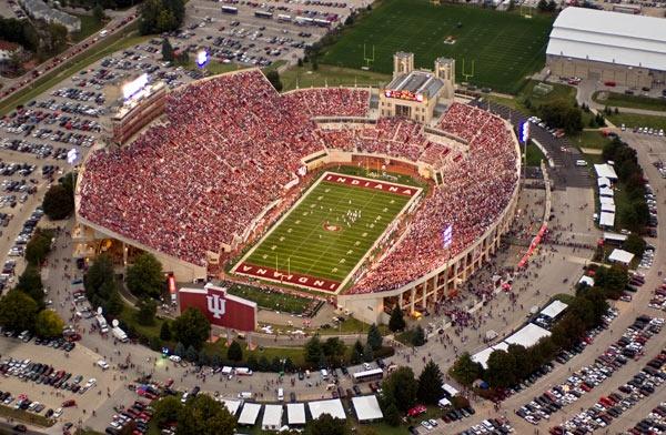 "Indiana University's Memorial Stadium , ""The Rock"
