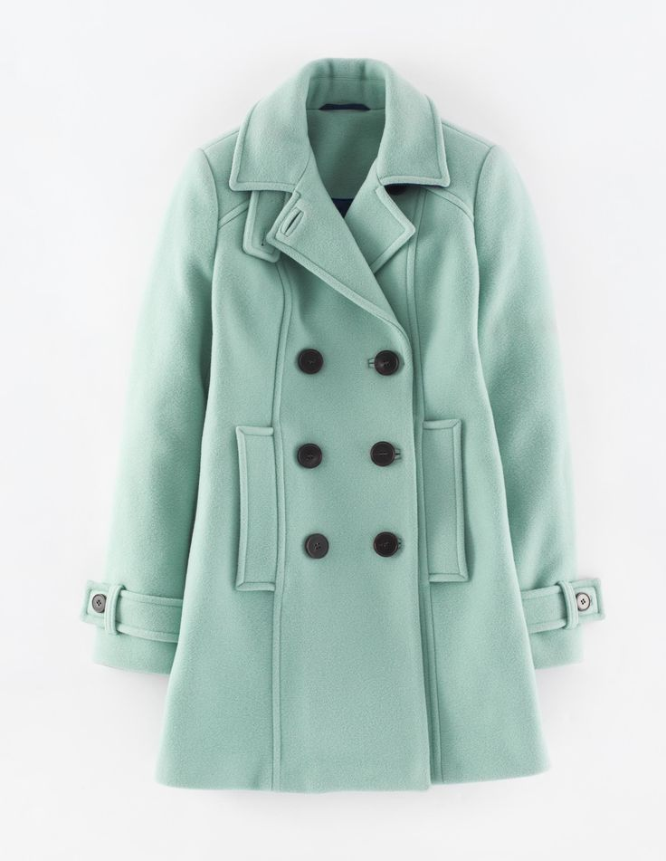 Mint Pea Coat