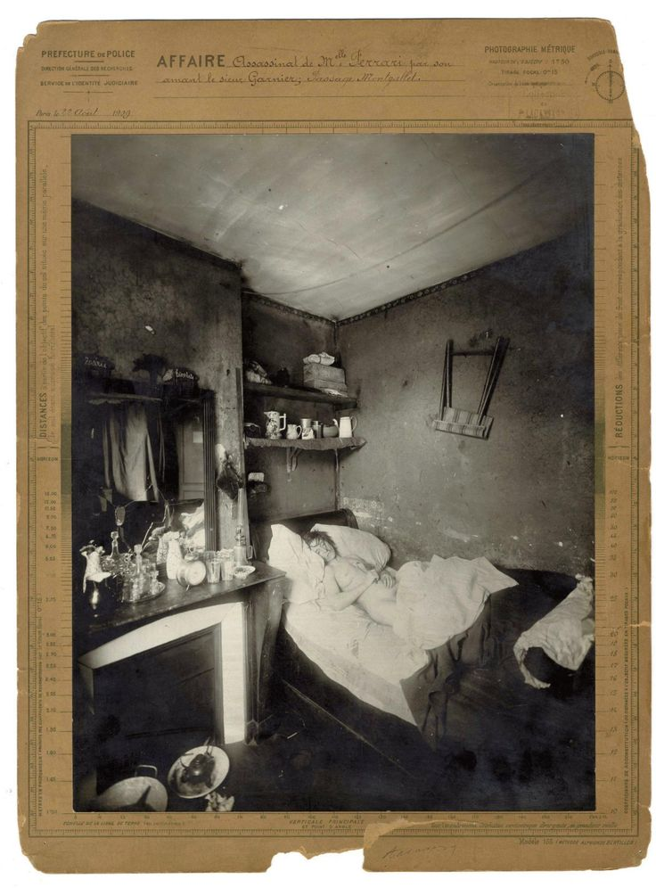Photos from Murder Scenes in Turn-of-the-Century Paris - VICE