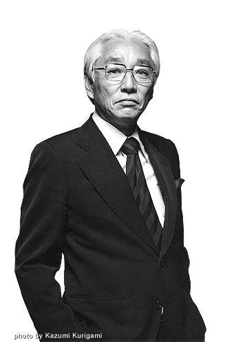 Akio Morita (January 26, 1921, Nagoya, Aichi – October 3, 1999, Tokyo), co-founder of Sony Corporation, photo by Kazumi Kurigami