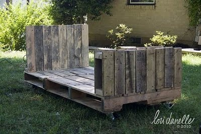 pallet twin bed for Ben
