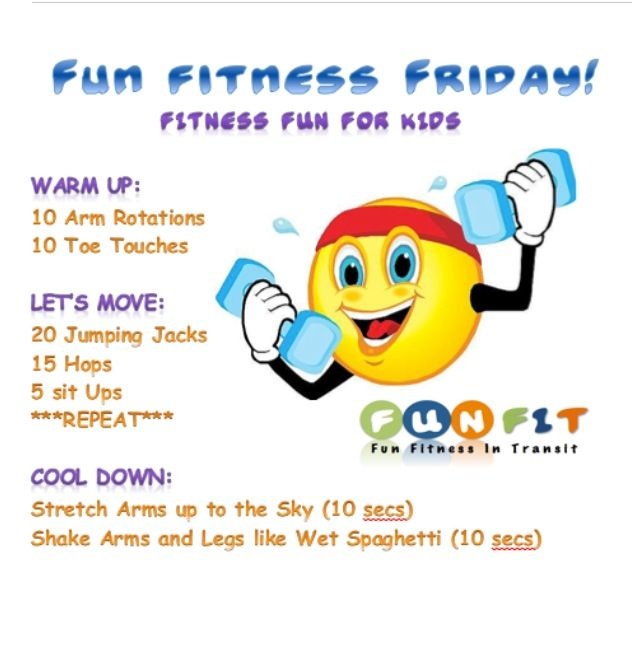 Fun Workout For Kids