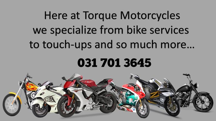 We at Torque Motorcycles are a very passionate bunch. We would love to look after your bike as we do with ours. From Services to repairs. All welcome